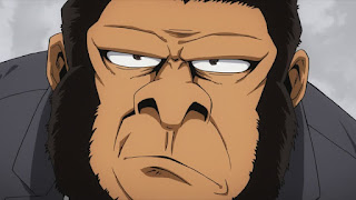 ヒロアカ   警察 ゴリラ   ゴリさん   Gorilla Police Force   僕のヒーローアカデミア アニメ   My Hero Academia   Hello Anime !
