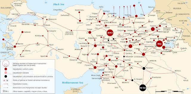 Incautación de tierras durante el Genocidio Armenio