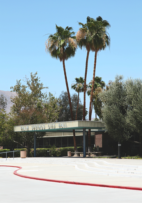 Palm Springs City Hall Mid Century Modern