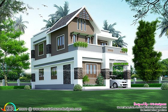 Cute and small Indian home plan