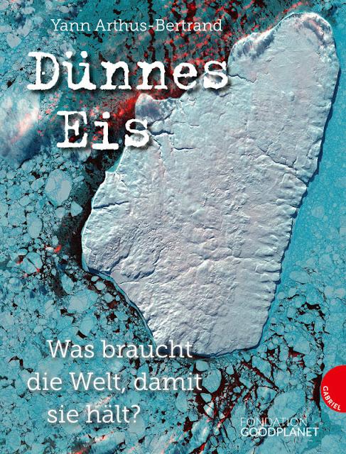 """Heute ein Buch! Kinderbücher über die Schönheit und Schutzbedürftigkeit der Meere. """"Dünnes Eis"""" ist ein Jugendbuch, in dem die Umwelt-Probleme mit Luftaufnahmen verdeutlicht werden."""