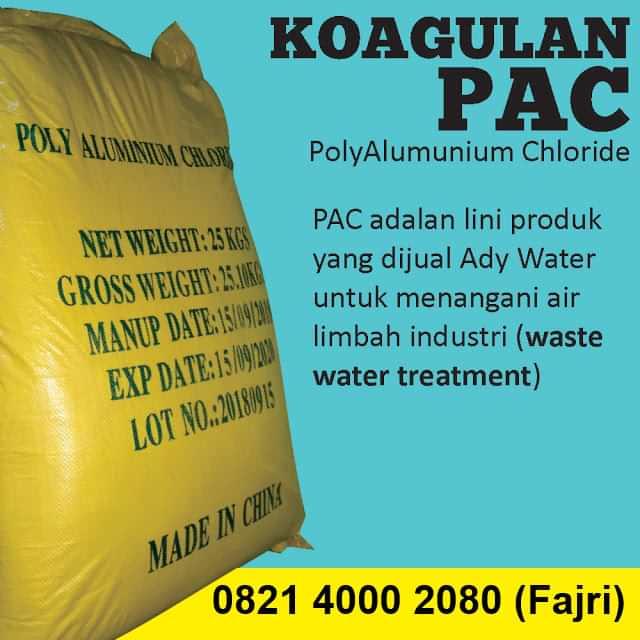 jual pac penjernih air limbah industri