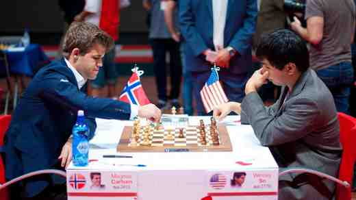 Ronde 4 à Bilbao: Carlsen atomise Wesley So dans la ronde 4 - Photo © Chess.com