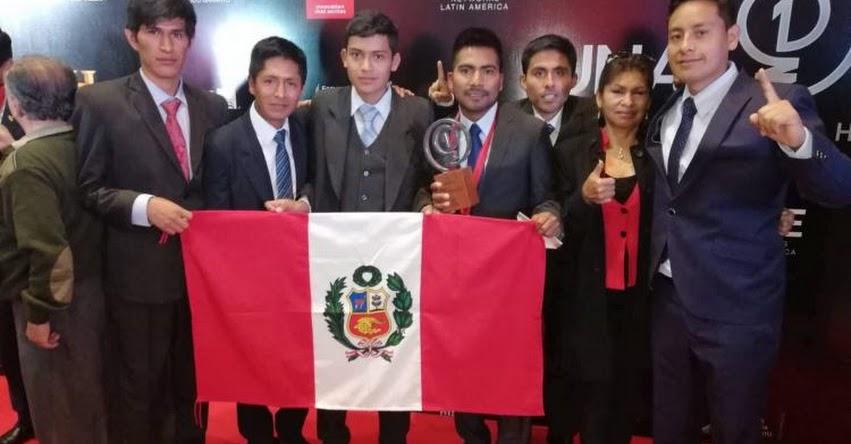 Estudiante peruano gana segundo lugar en concurso de History Channel