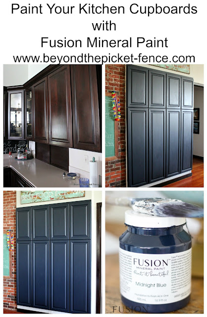 Painting Kitchen Cupboards With Fusion Mineral Paint