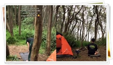 shalat di hutan
