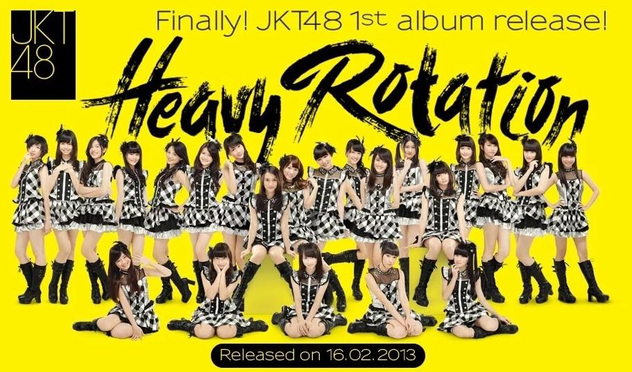 1st Album JKT48 Heavy Rotation