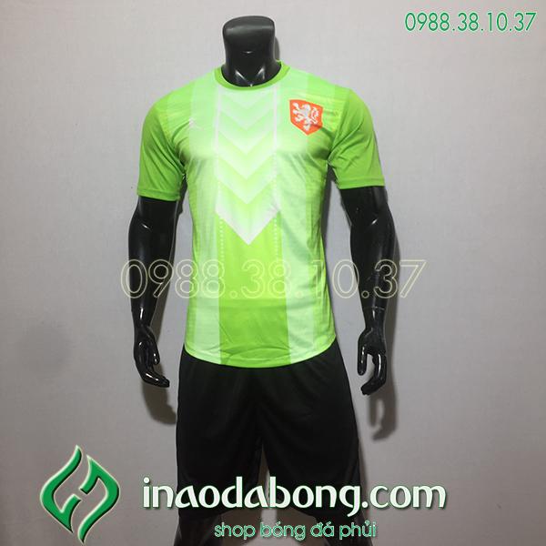 Áo đội tuyển training Hà Lan màu xanh 2020