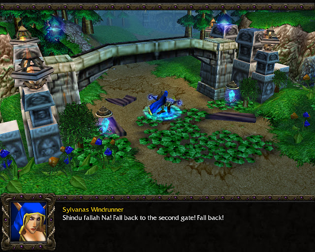 Into the Realm Eternal Mission 14   Sylvanas Windrunner Screenshot   Warcraft 3: Reign of Chaos