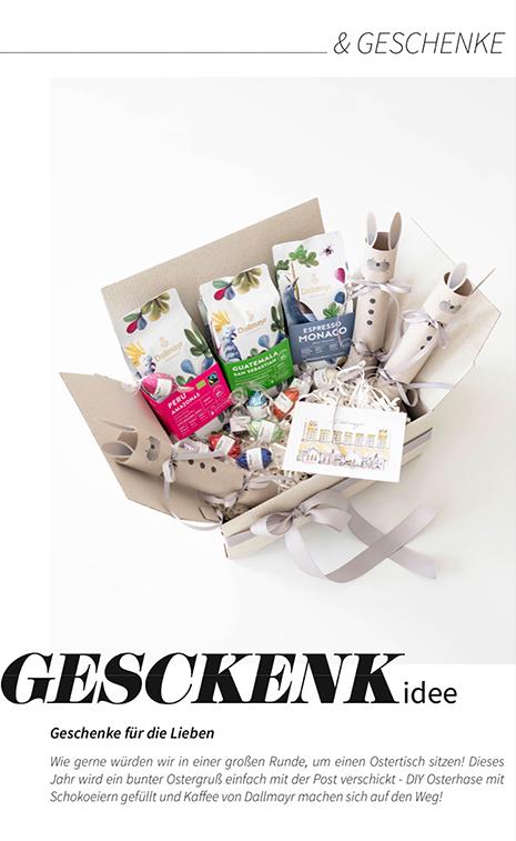 DIY-Osternest aus Papier selber basteln, meine Osterhasen (Kallbombom) mit süßer Füllung - Geschenkidee für Ostern