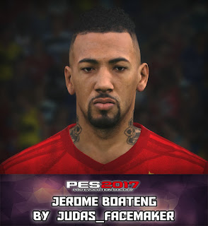 PES 2017 Faces Jerome Boateng by Judas