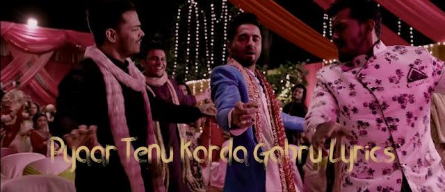 Yo Yo Honey Singh Pyaar Tenu Karda Gabru Lyrics