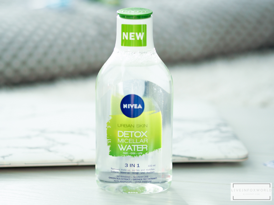 Micelárna voda Urban Skin detox