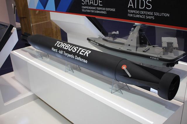 Rafael Torbuster Hard-Kill Torpedo Countermeasure