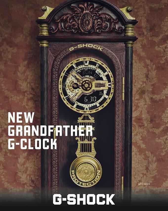 """ว้าว ! Casio เปิดตัว """"G-Shock GFC-0401"""""""