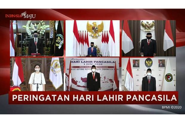 Upacara Peringatan Hari Lahir Pancasila, 1 Juni 2020
