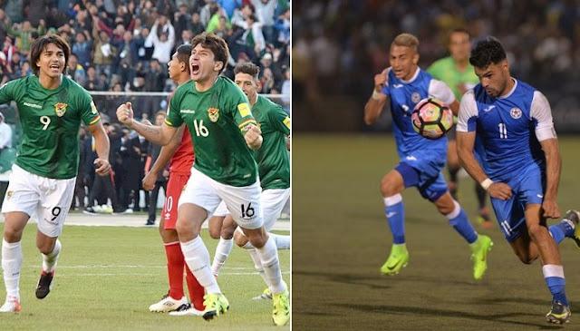 Nicaragua vs Bolivia en vivo