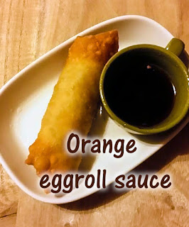 egg roll sauce with orange marmalade and soy sauce, dipping sauce for egg rolls, asian dipping sauce ideas, asian dipping sauce recipe