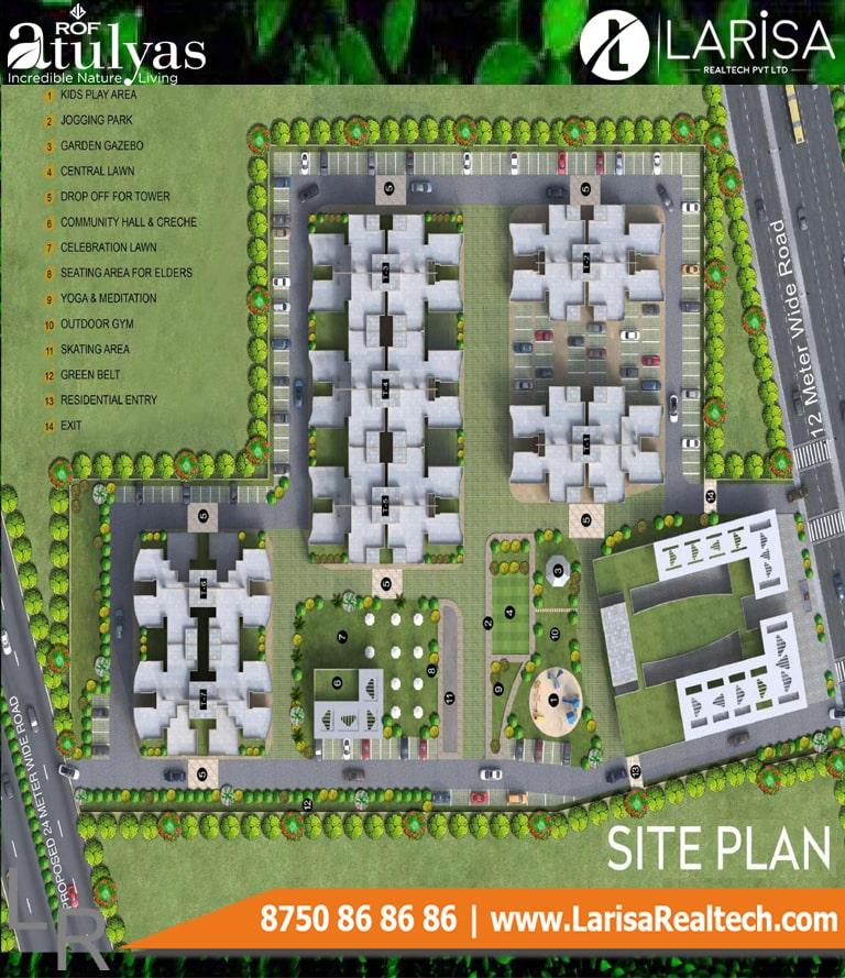 ROF Atulyas 93 Site Plan