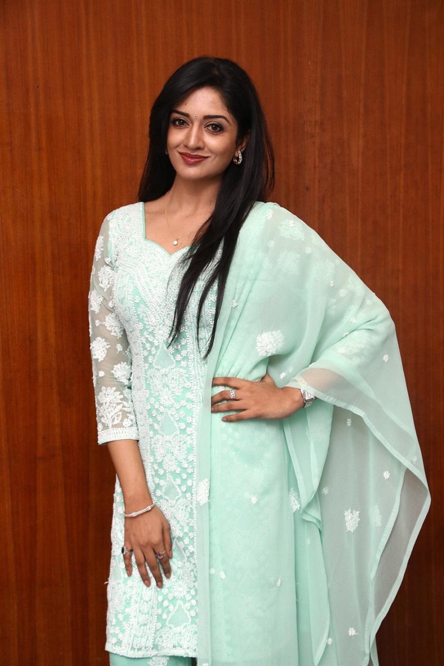 Indian Actress Vimala Raman at Iruttu Movie Press Meet Function