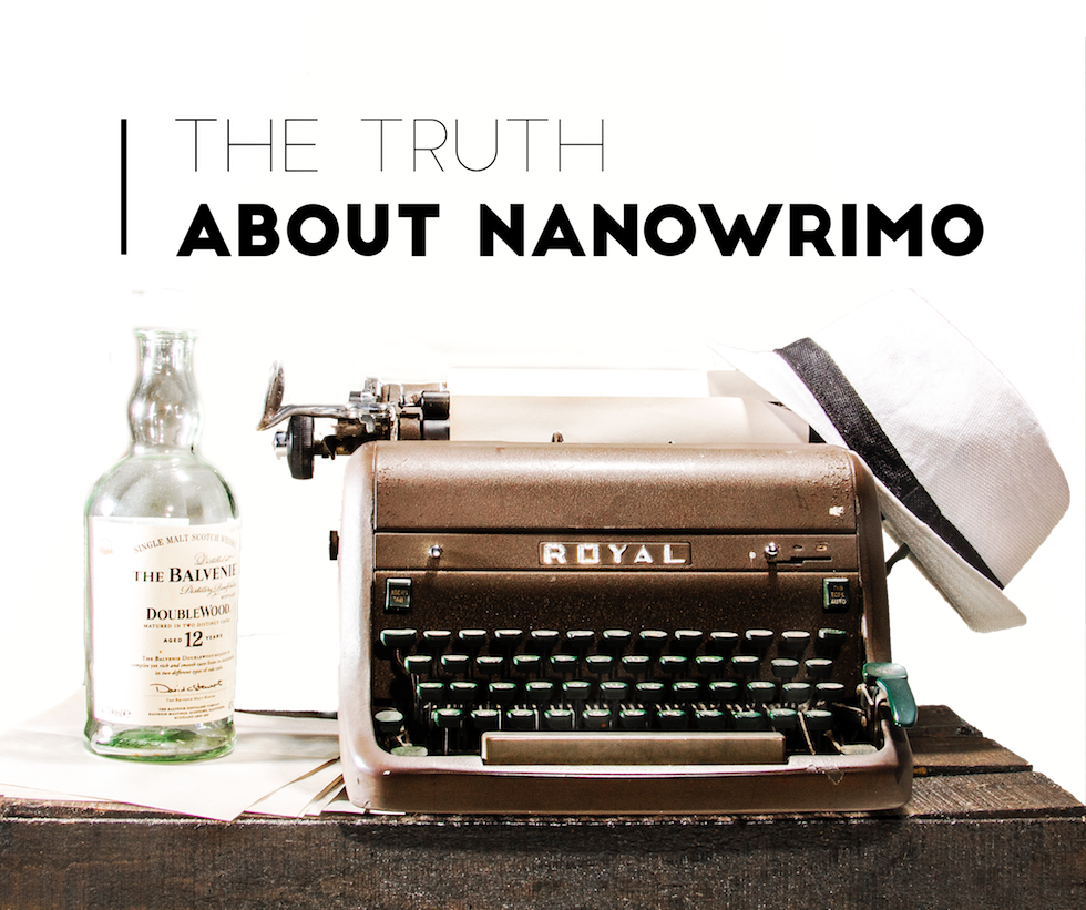 nanowrimo truth vs expectation