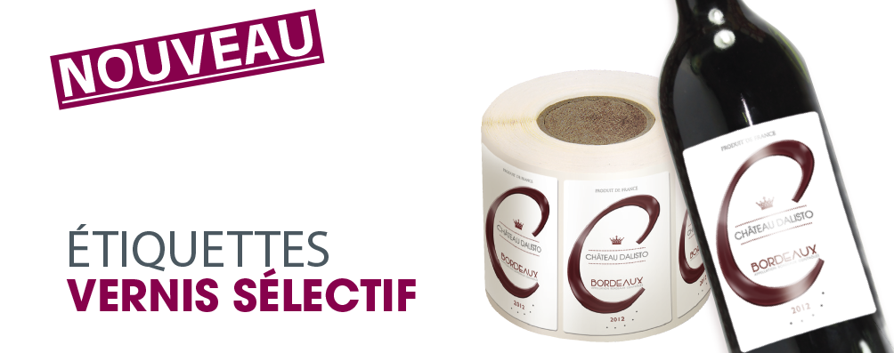 Bien-aimé etiquettes autocollantes-ETIQUETTOO.com : etiquettes adhesives  TK48