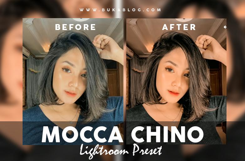 Hasil Menggunakan Preset Mocca Chino