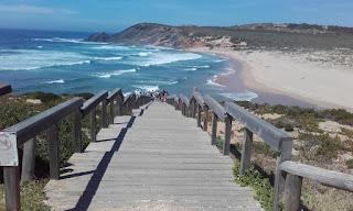 Passadiço Praia da Amoreira