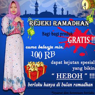 Promo rejeki bulan suci ramadhan 2017