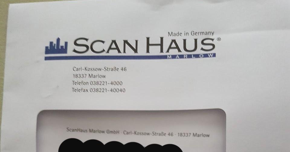 Scanhaus Erfahrungen scanhaus schlechte erfahrungen website screenshot baublog in