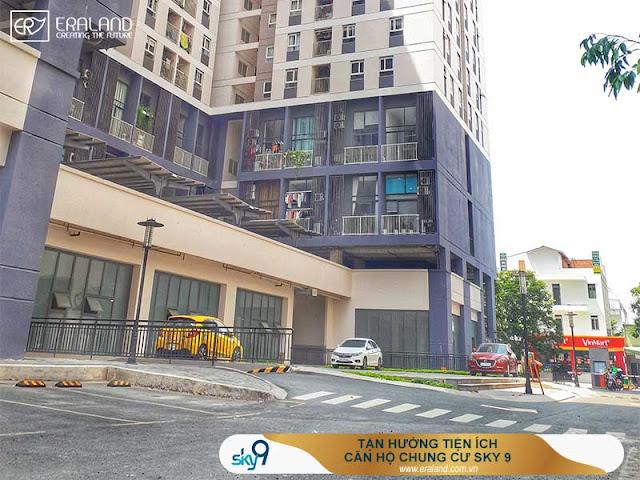 tiện ích căn hộ chung cư sky 9