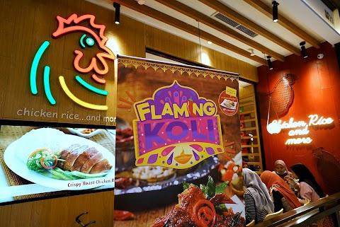 Promosi Flaming Koli Sempena Deepavali Di The Chicken Rice Shop