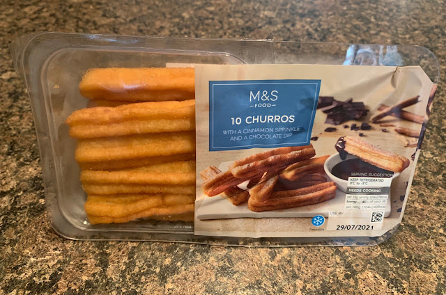 M&S Food - 10 x Churros