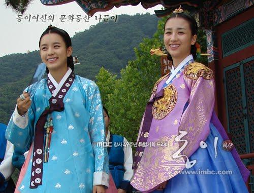 dn blog keakraban dong yi amp queen inhyeon