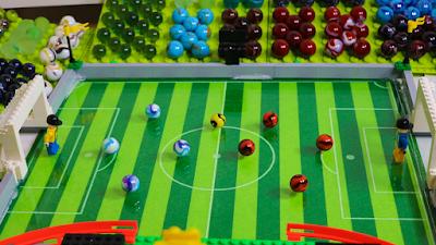 COPA do MUNDO com BOLINHAS de GUDE - TIME com SELEÇÃO de PAISES e LEGO - Marble Football  ◆ Facebook -https://www.facebook.com/FubecaManiacos  Marble Football Game - World Cup 2018 ► COUNTRYBALLS MARBLE RACE