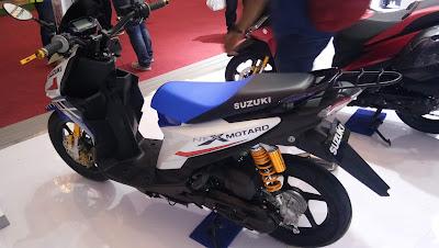 Suzuki Nex Varian Touring dengan nama NexMotard