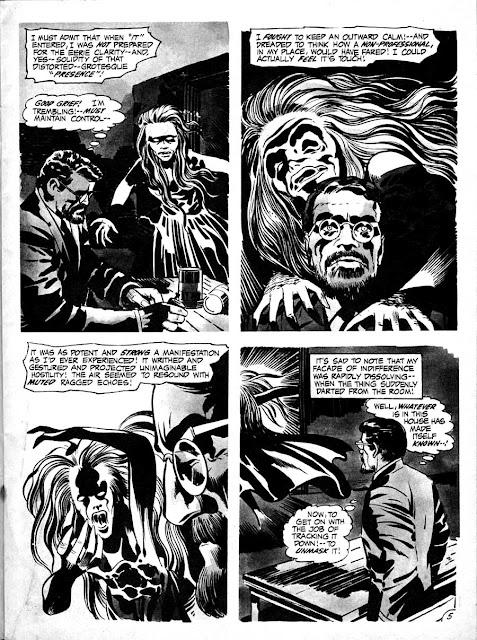 Spirit World v1 #1 comic book magazine page art by Jack Kirby