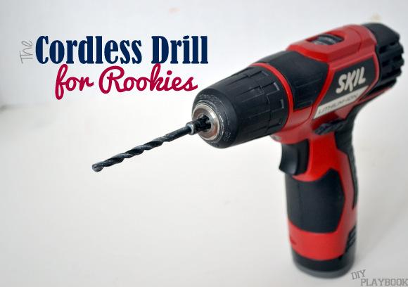 cordless drill tutorial