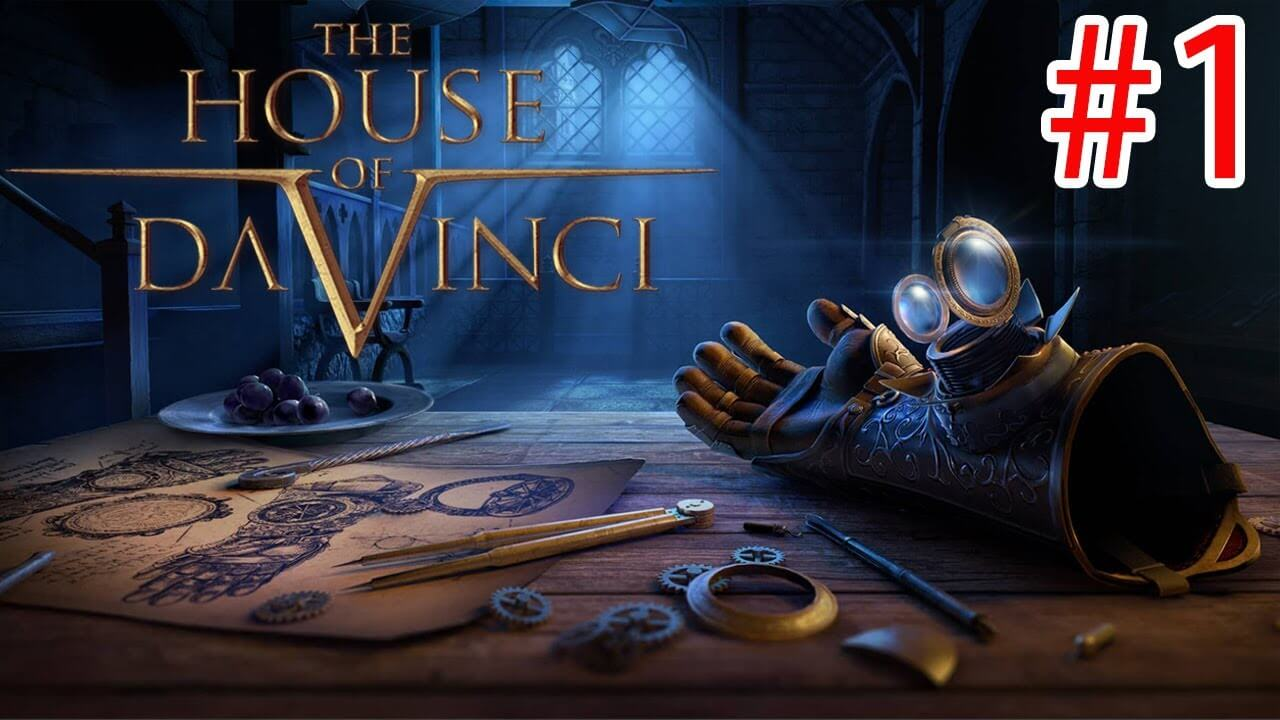 تحميل The House of Da Vinci افضل لعبة الغاز ورعب النسخة المدفوعة مجانا للاندرويد