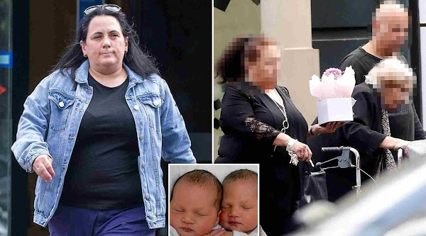 Mom who killed one child and disabled the other celebrates Mother's day at the pub