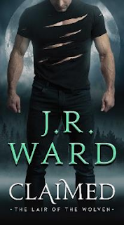 Claimed by J.R. Ward cover and giveaway