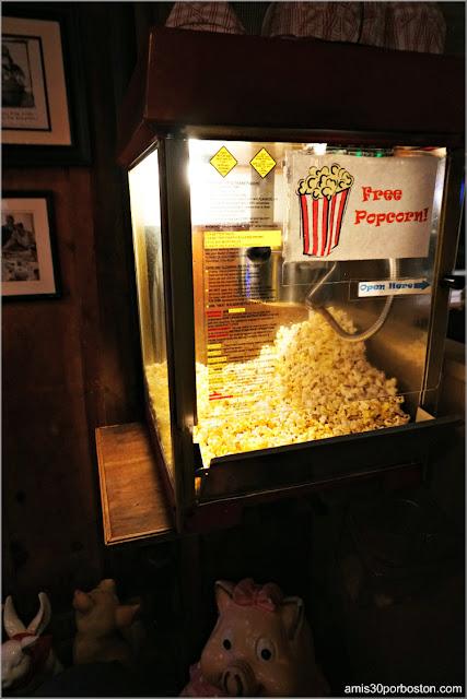 Máquina de Palomitas del Restaurante The American BBQ