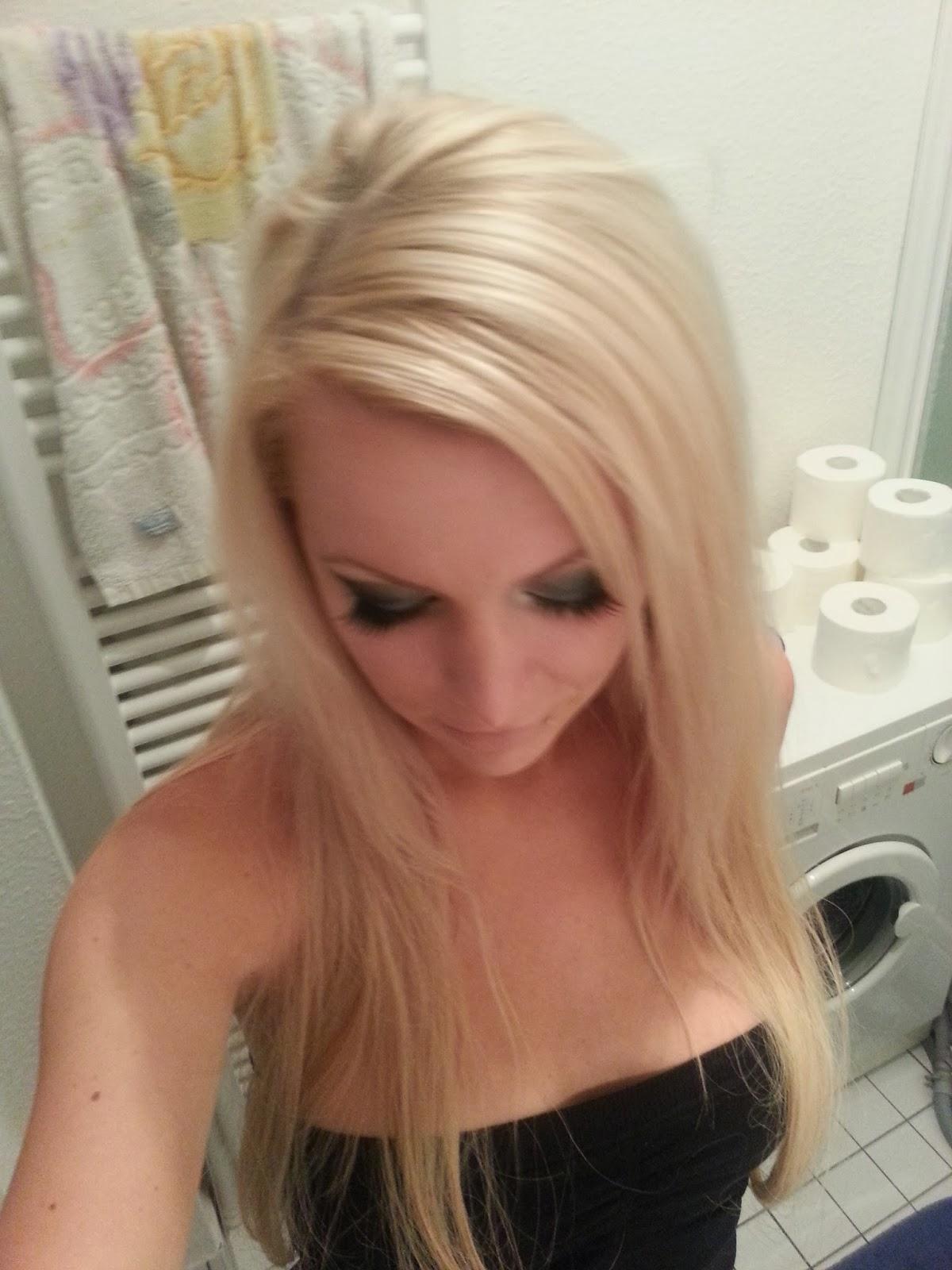 Gelb Orange Haare Aschblond Farben Stilvolle Frisur Website Foto Blog