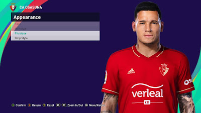PES 2021 Faces Chimy Ávila by SR