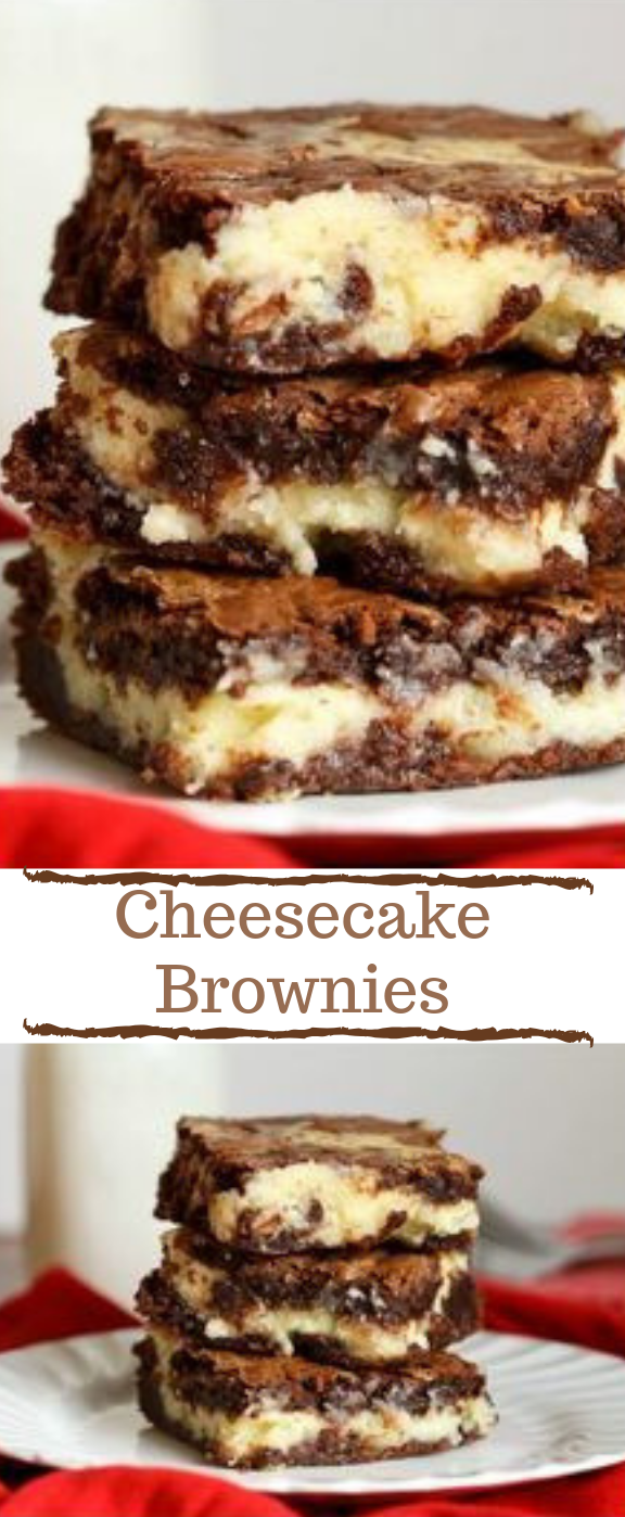 CHEESECAKE BROWNIES #desserts #cakes #brownies #cookie #yummy