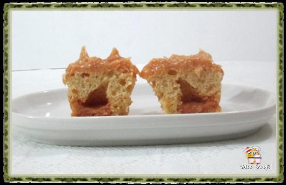 Cupcake de guaraná e doce de leite 9