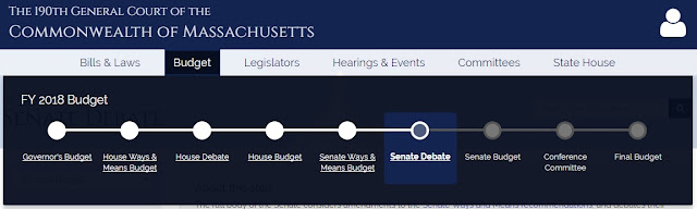 MA Senate Passes Fiscal Year 2018 Budget