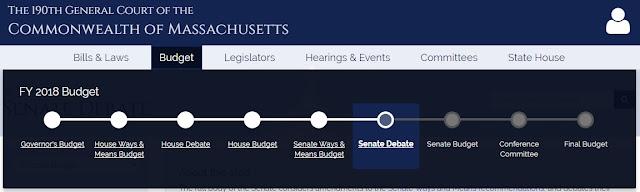 MA Senate Passes Fiscal Year 2018 Budget