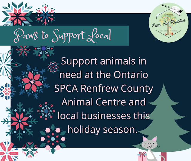 OSPCA Renfrew County Paws to Support Local holiday fundraiser for pets and local business