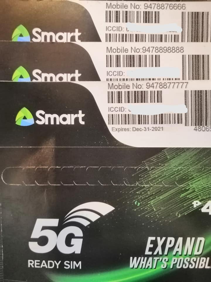 Smart 5G-ready SIM cards spotted online, now available for sale in the Philippines!